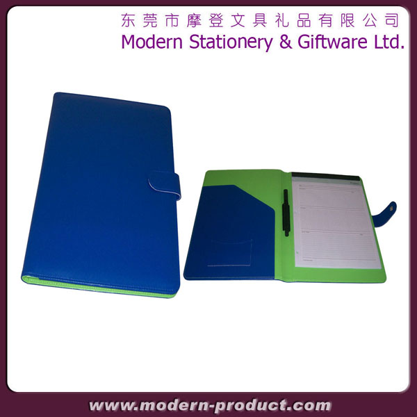 2013 high quality chic notebook leather portfolio