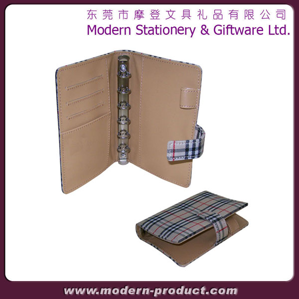 High quality durable A5 size leather organizer