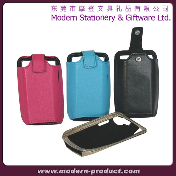 Fasionable leather mobile phone cover for iphone