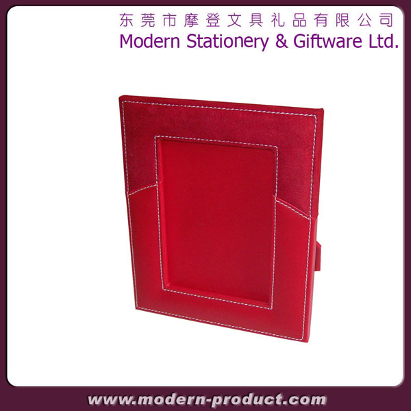 2013 Fashion colorful leather photo frame