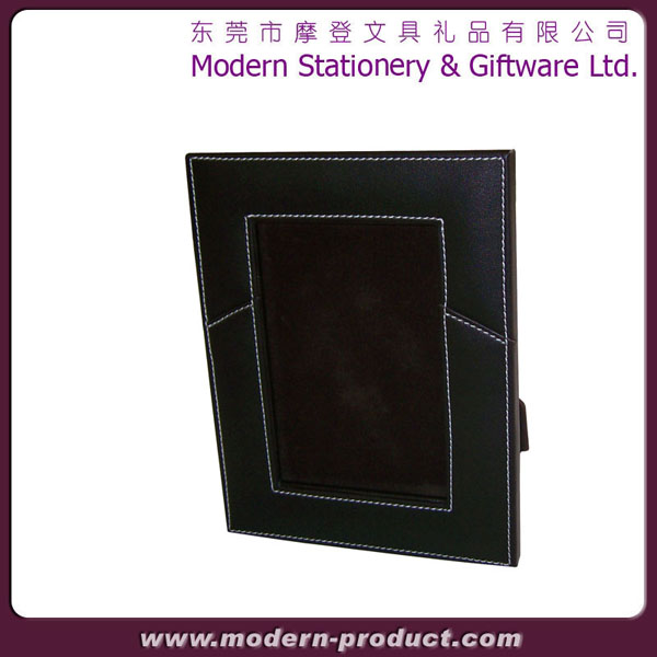 High quality classical Leather photo frame